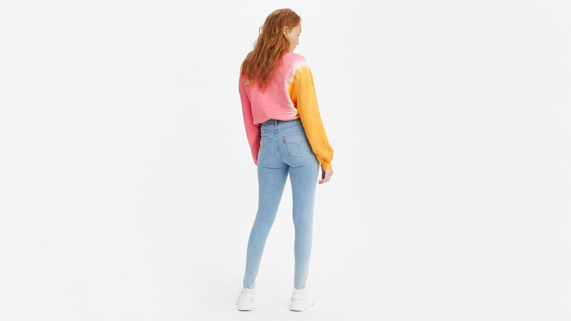 720 Yüksek Bel Süper Skinny Kadın Jean Pantolon-Galaxy Piece Of Cake