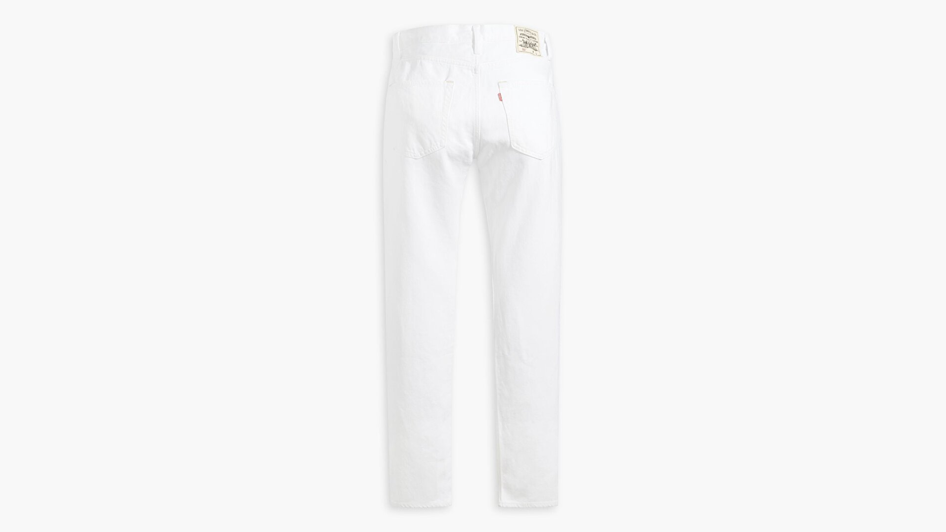 WellThread 502™ Regular Tapered Erkek Jean Pantolon-Birch White