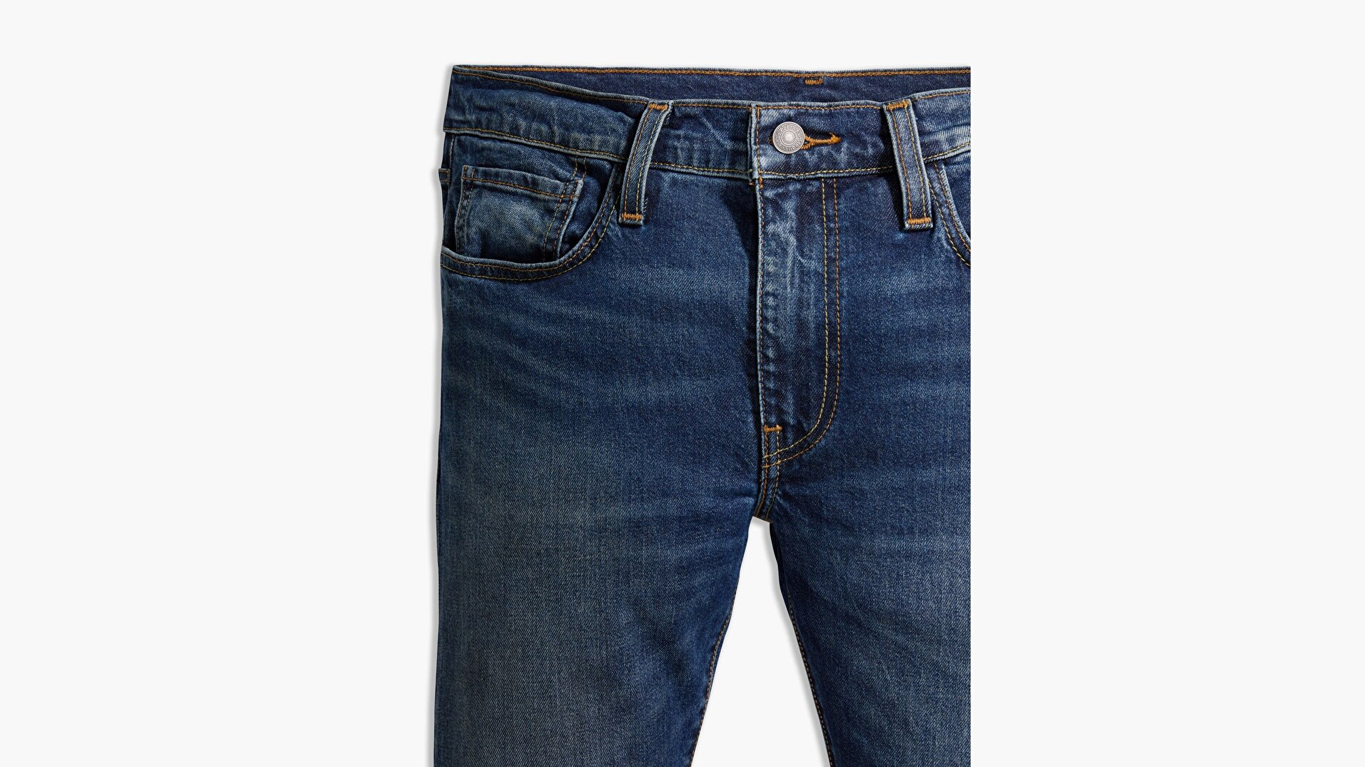 511™ Slim Fit Erkek Jean Pantolon-X9986 Lse_Band Wagon Adv