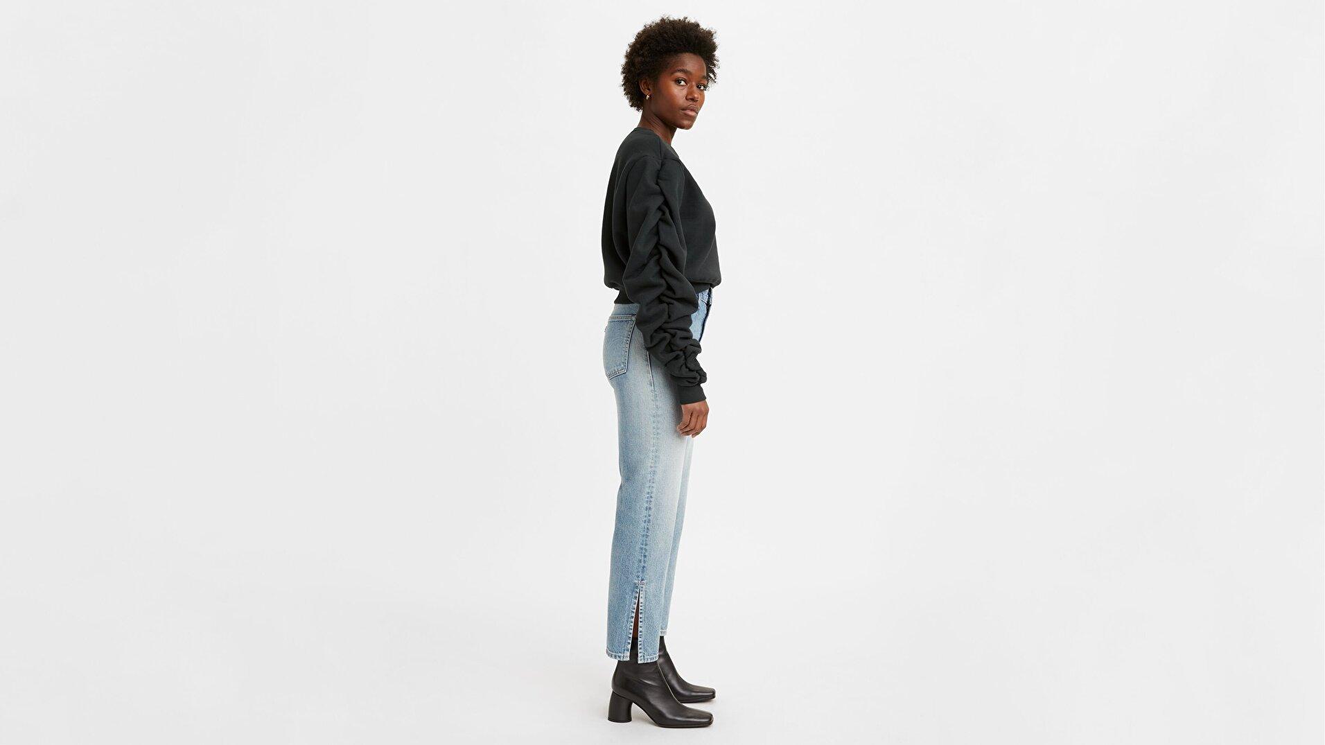 Made & Crafted® Kadın Jean Pantolon-Lmc Freshwater Moj