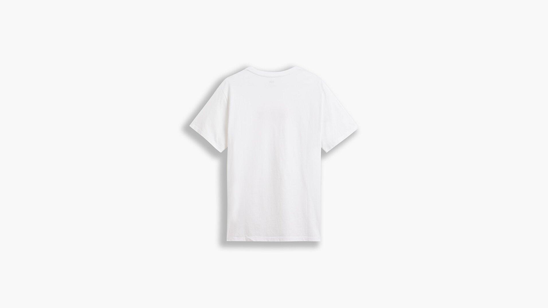 Boxtab Graphic Erkek Beyaz Tişört