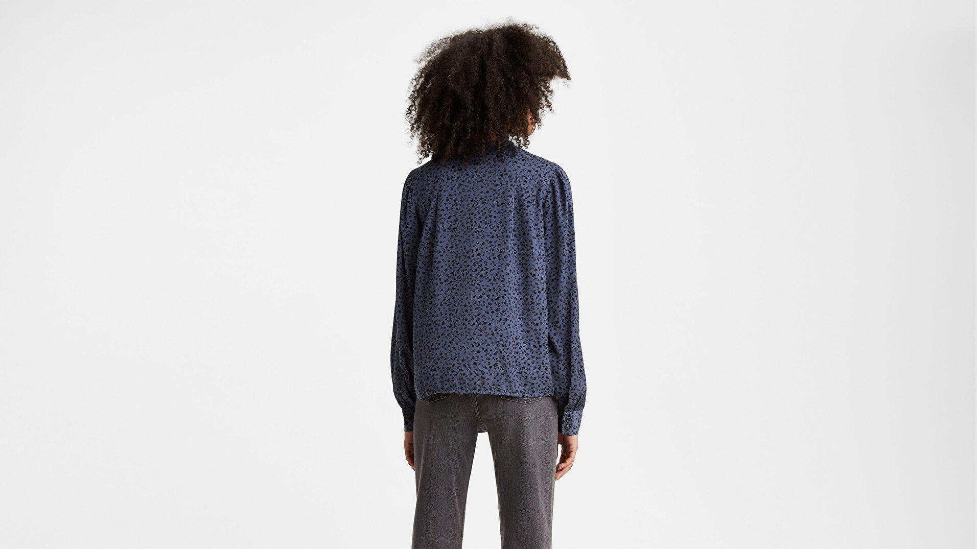 Sorrel Blouse Kadın Mavi Gömlek