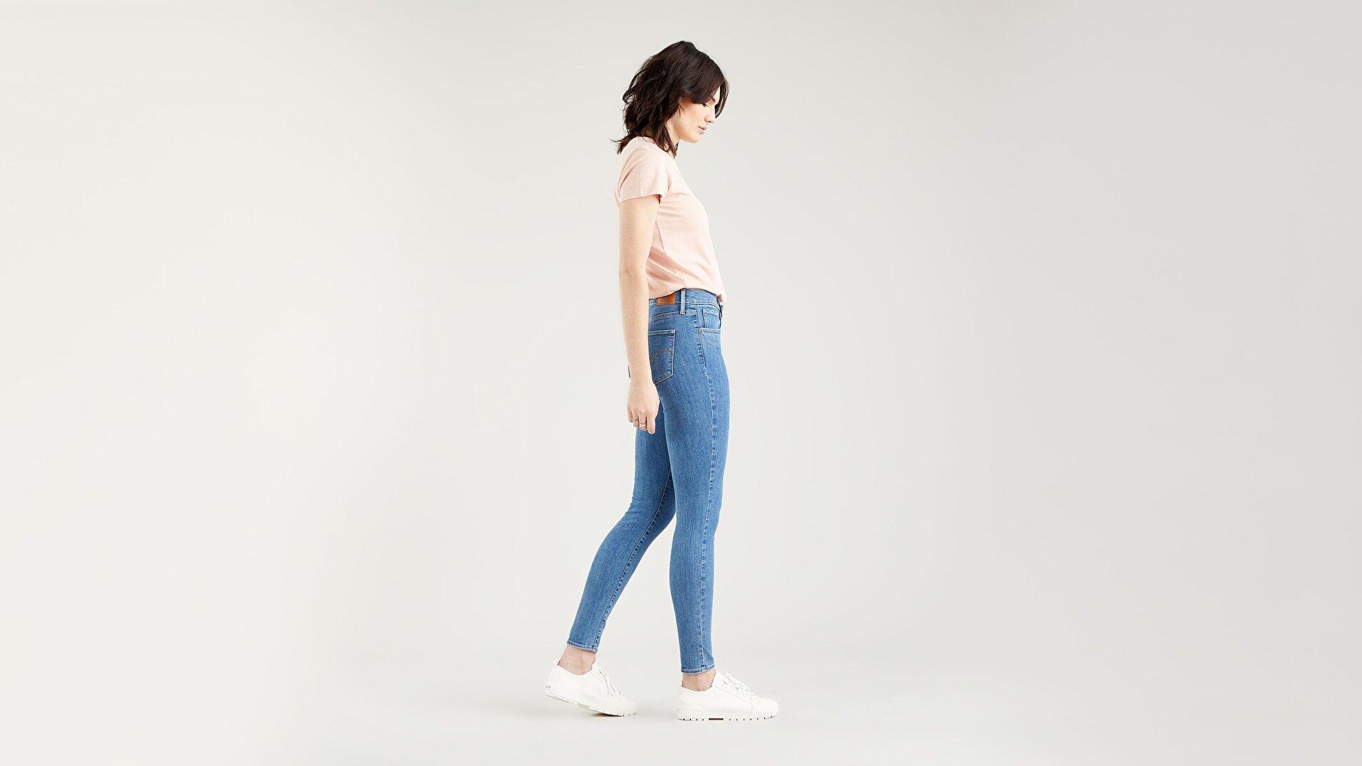 720™ High Rise Super Skinny Jean - Medium Indigo