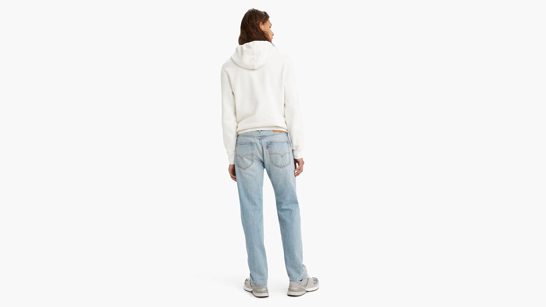 551Z™ Authentic Straight Erkek Jean Pantolon - Running Out Light Indigo