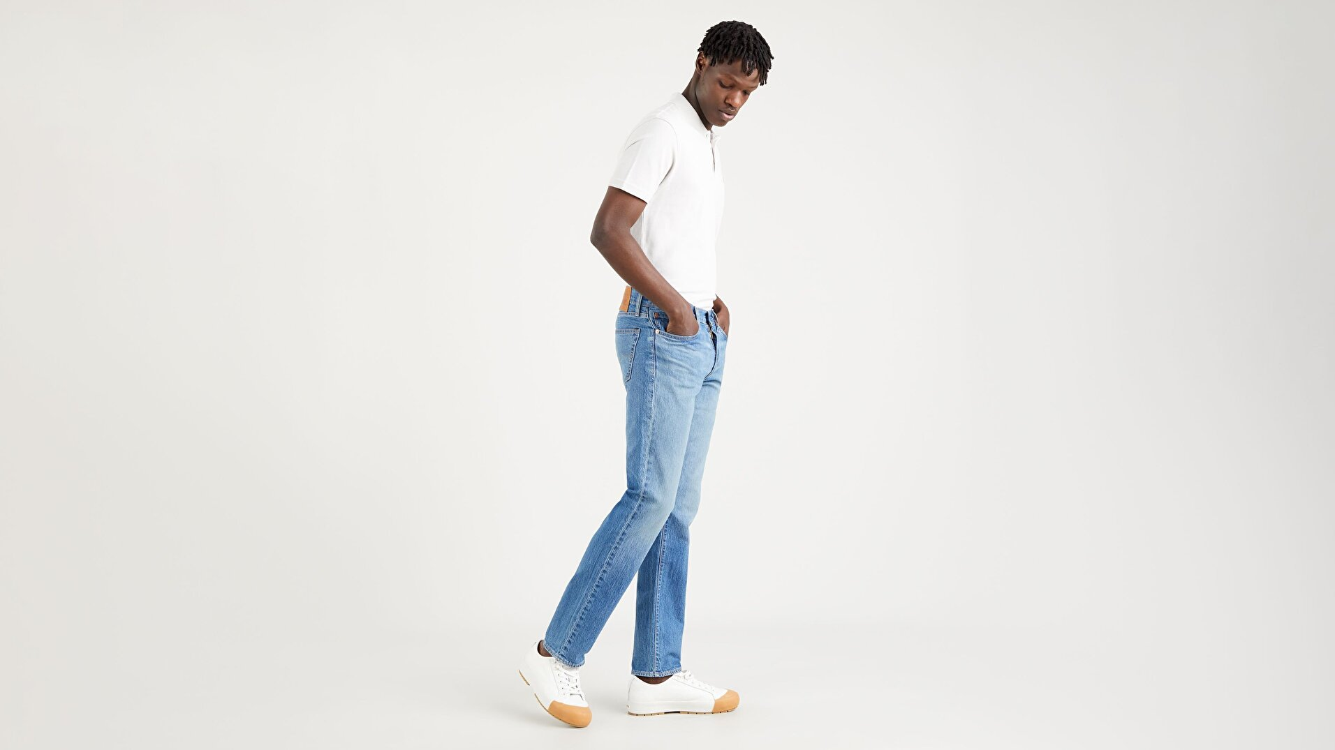 511™ Slim Erkek Jean Pantolon - Sellwood Dance Apart - Medium Indigo