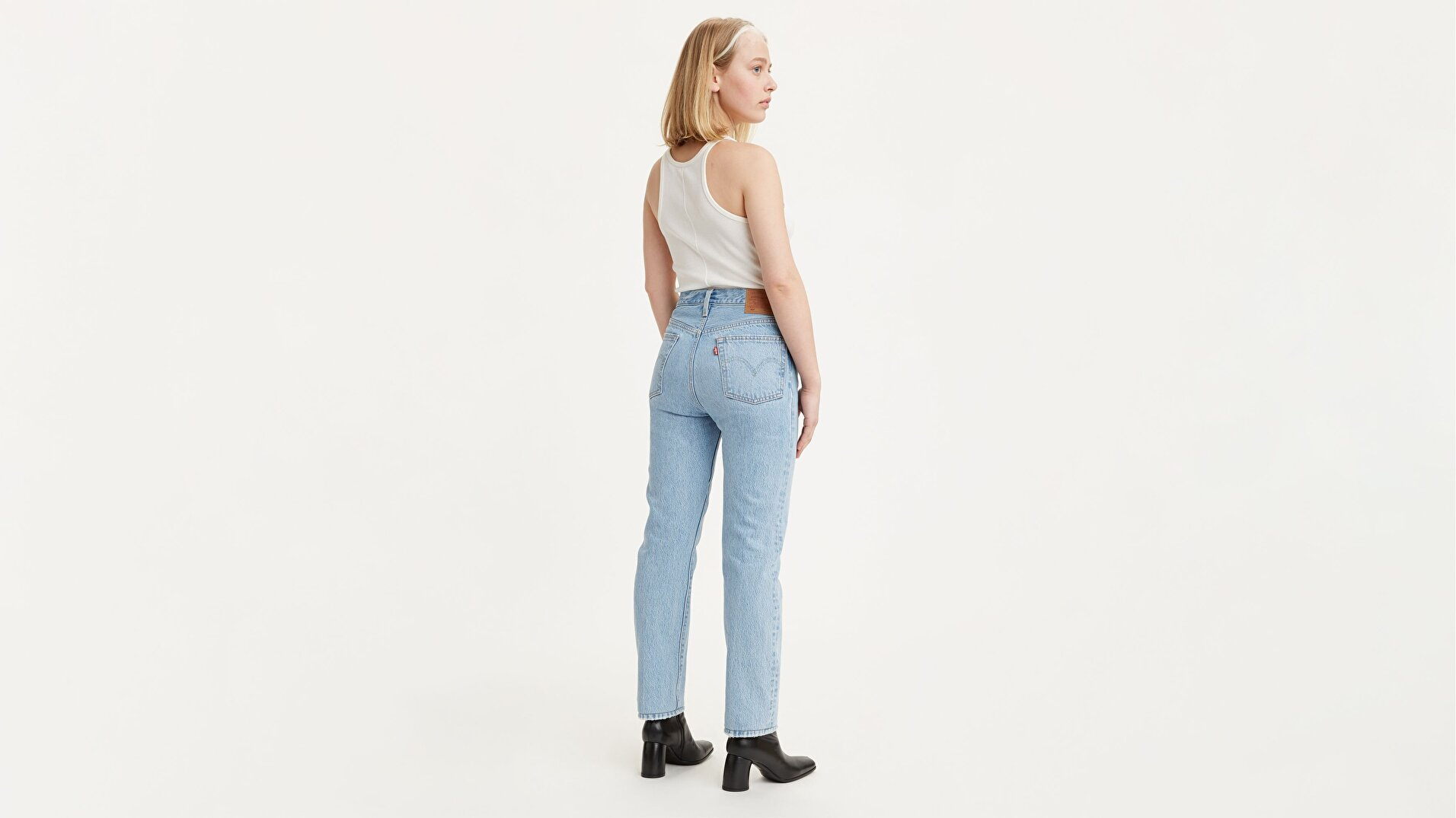 501® Levi's® Original Kadın Jean Pantolon - Luxor Last - Light Blue