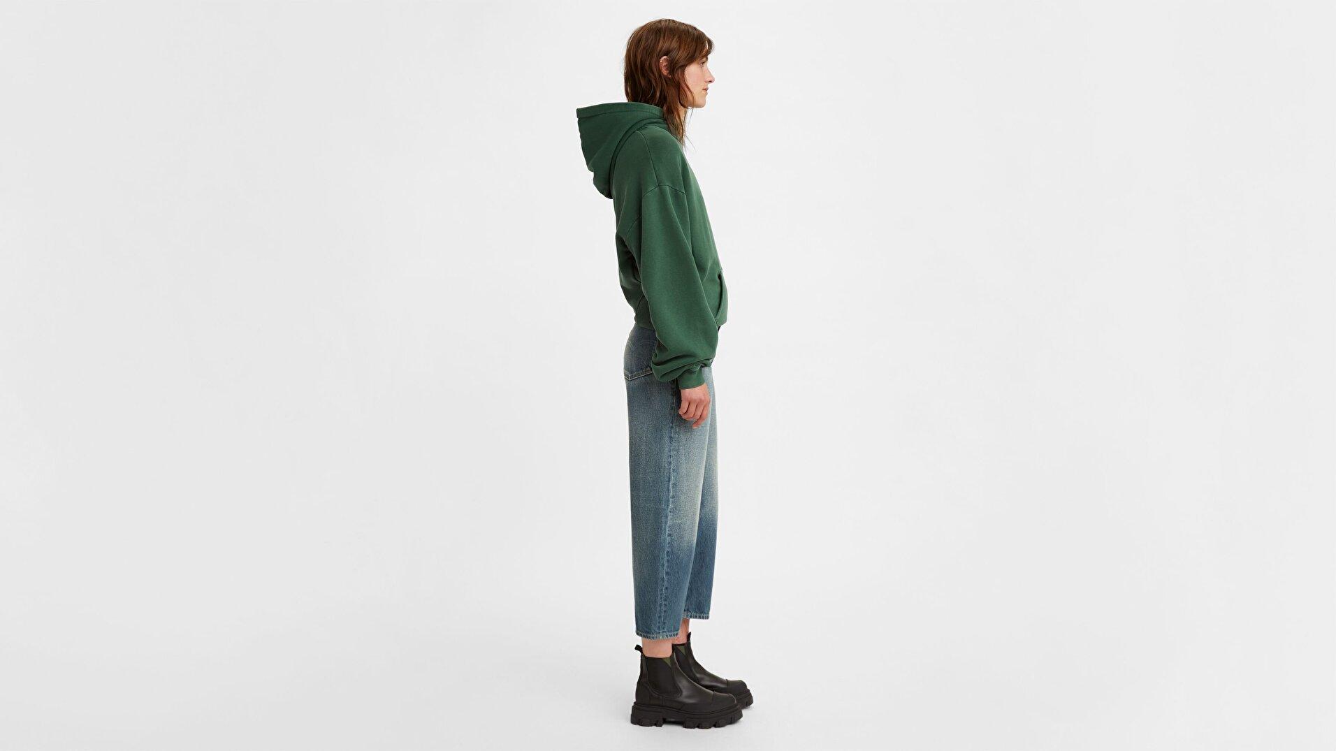 Levi's® Made & Crafted® Barrel Kadın Jean Pantolon - Brook Blue - Blue