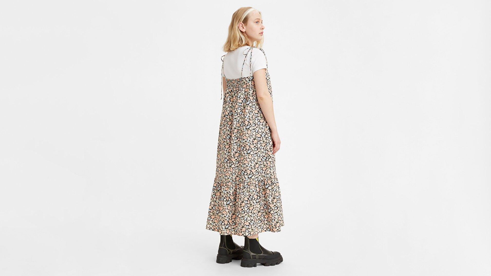 Rowen Midi Çok Renkli Kadın Elbise