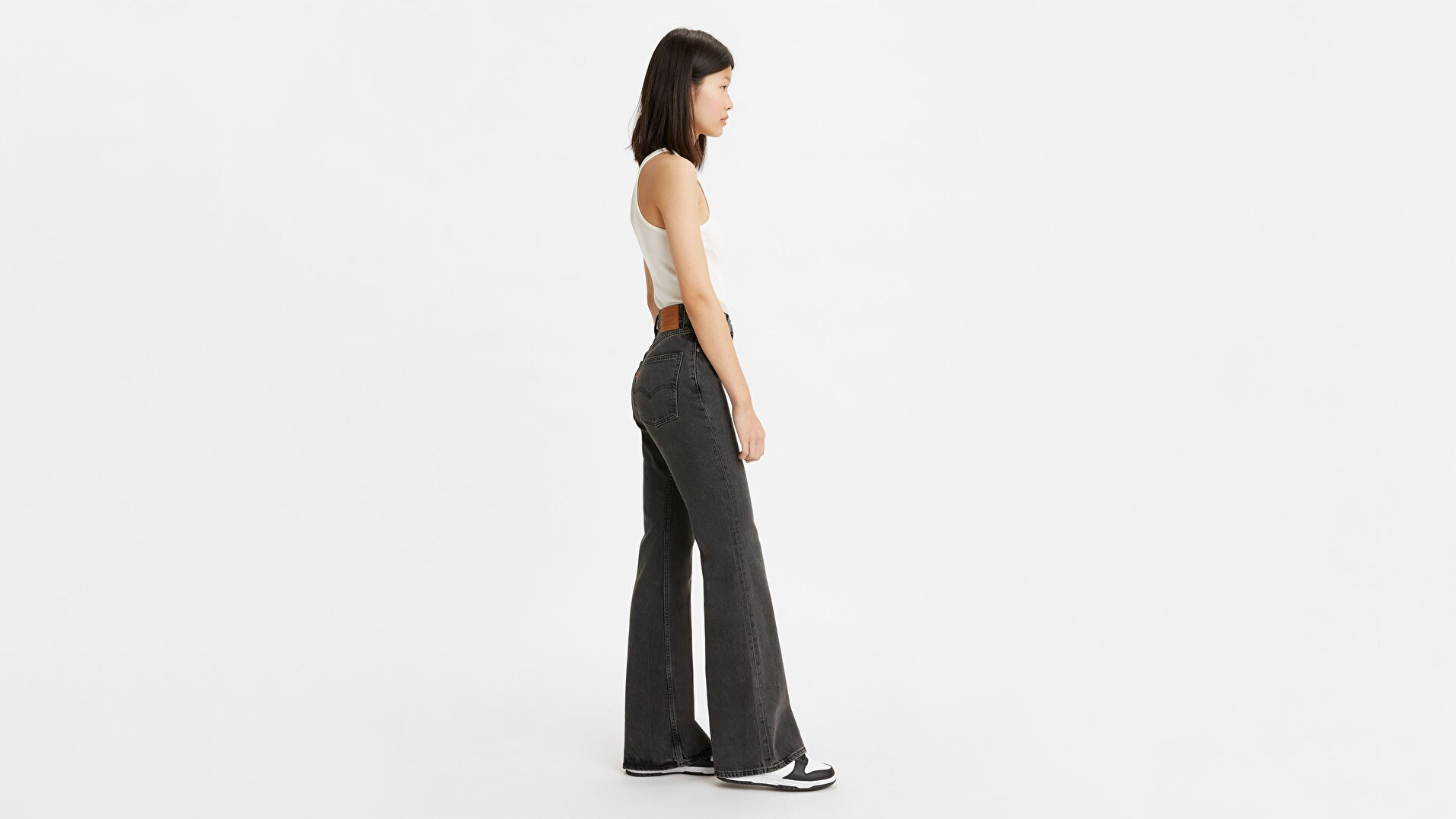 70's High Flare Kadın Jean Pantolon - Such A Doozie