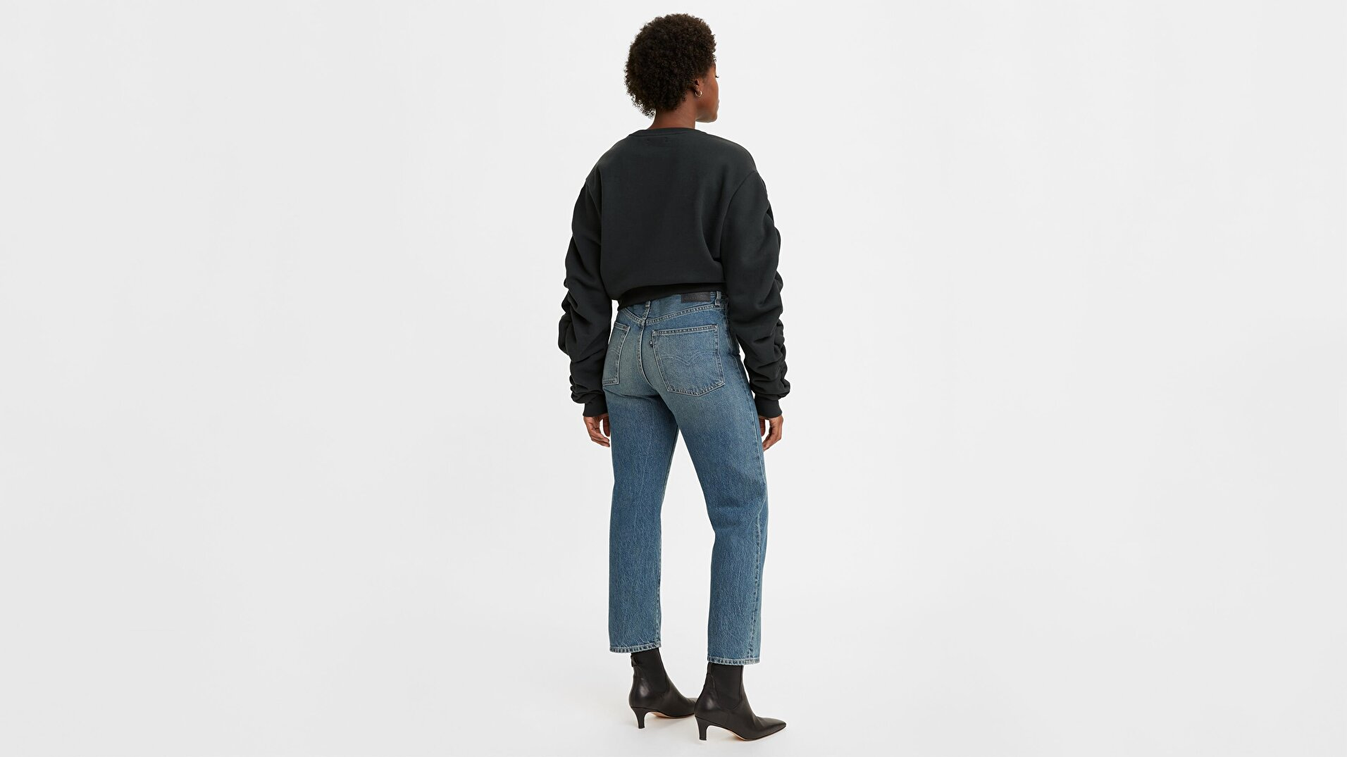 Made & Crafted® Kadın Jean Pantolon-Lmc Coastal Blue
