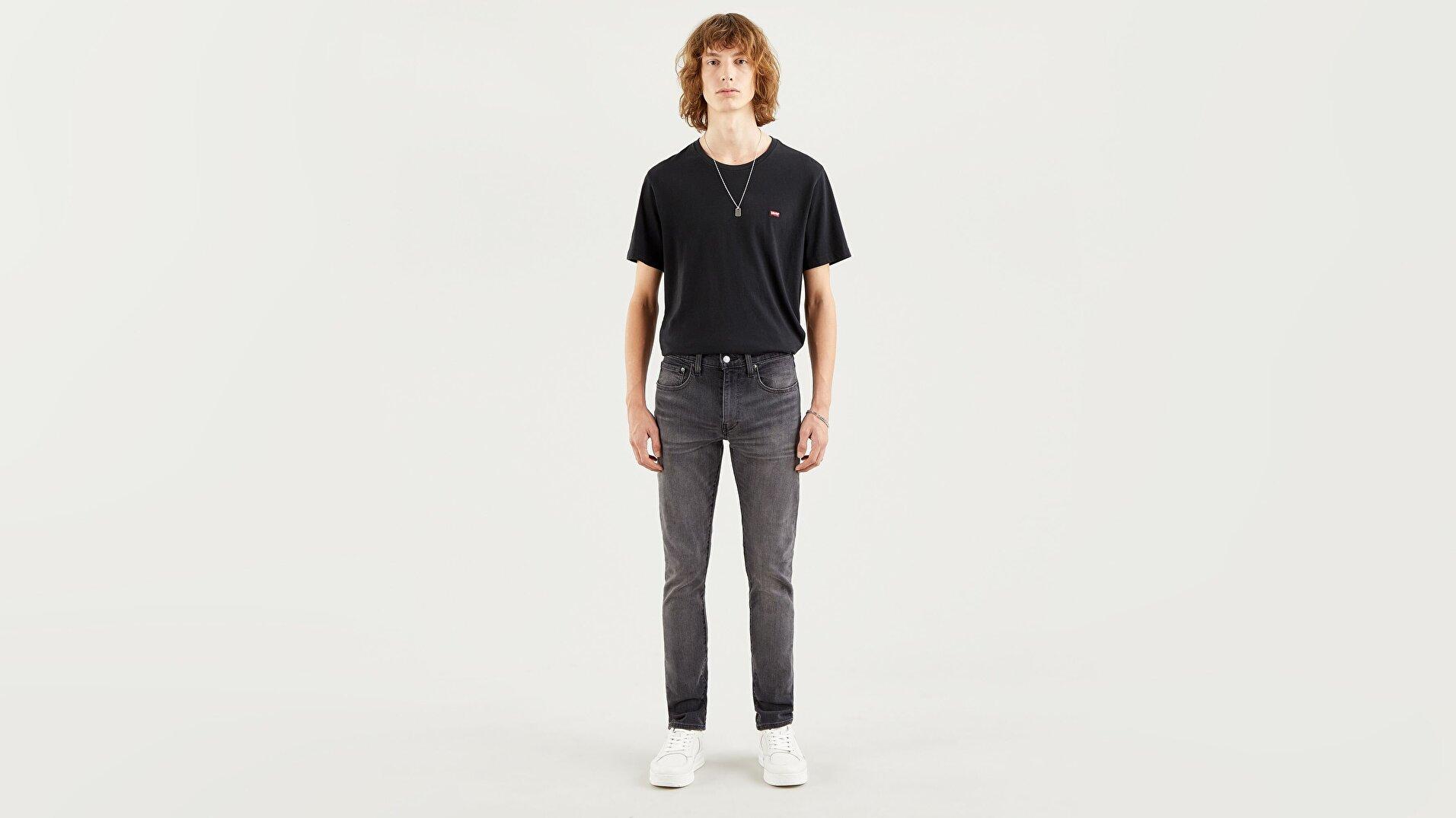Skinny Tapered Fit Erkek Jean-Complicated Adv