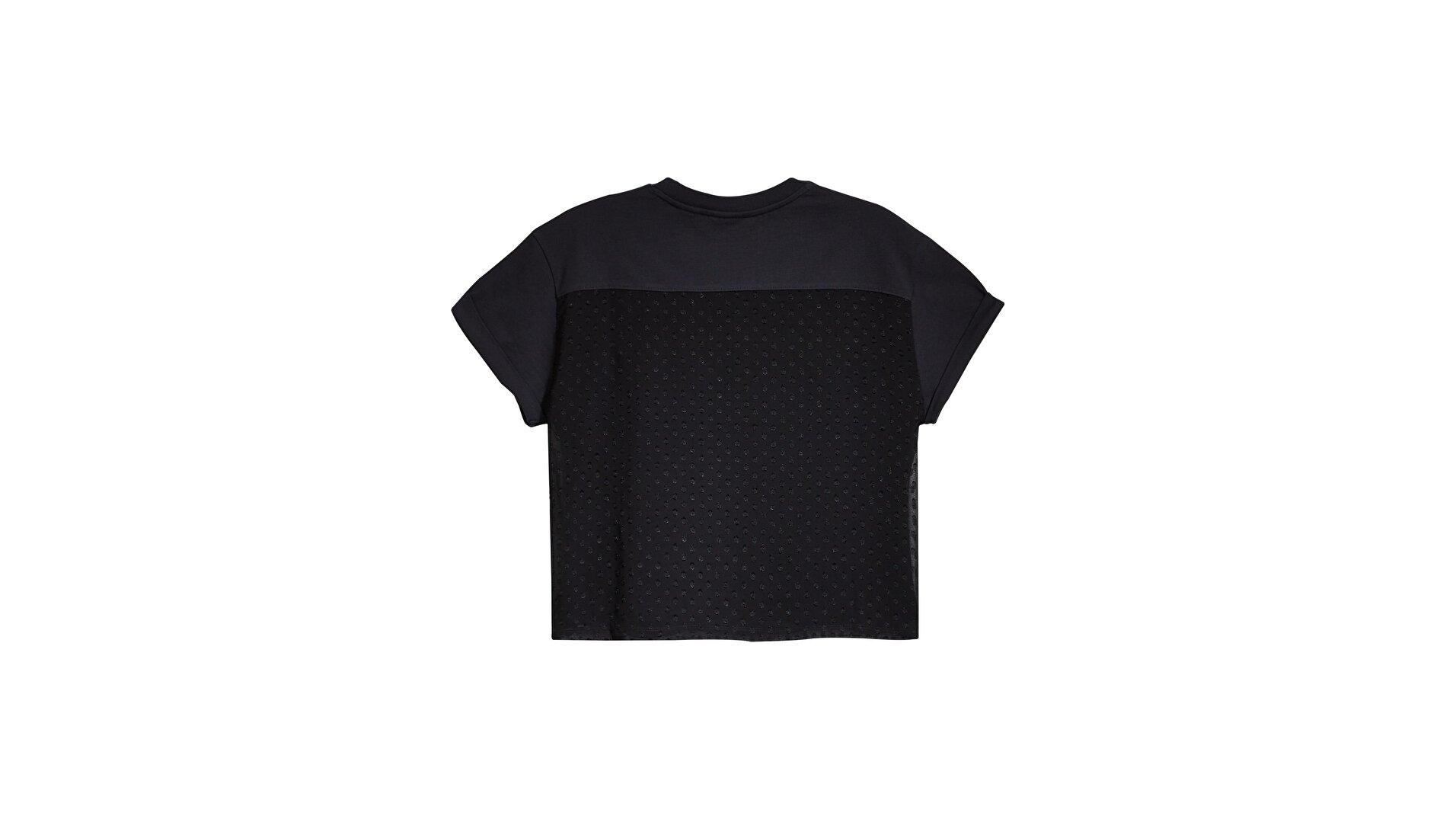 Lola Top Caviar Siyah Kadın Bluz