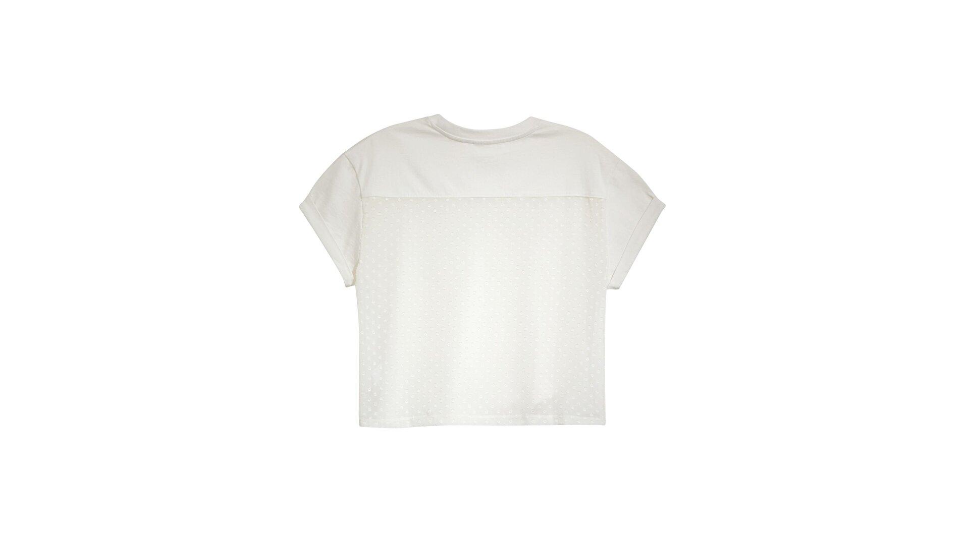 Lola Top Tofu Beyaz Kadın Bluz