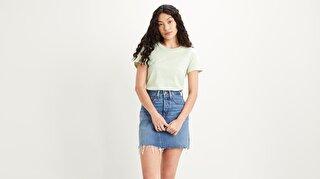 The Perfect Tee Batwing Outline Yeşil Kadın Tişört