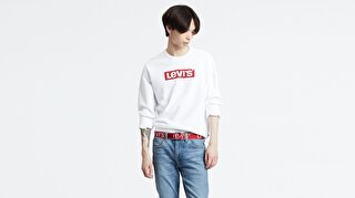 Graphic Crew B Add Crew Beyaz Erkek Sweatshirt