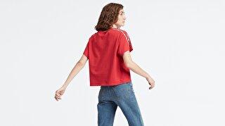 Levi's® Varsity Tee Brilliant Red Kadın Kırmızı T-Shirt