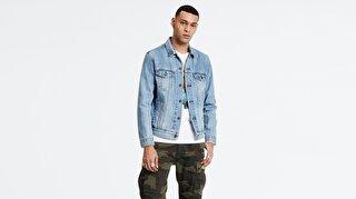 Levi's® The Trucker Jacket Multicolor 2Horse Erkek Jean Ceket Açık Mavi