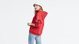 Levi's® Unbasic Hoodie Kadın Kapüşonlu Sweatshirt