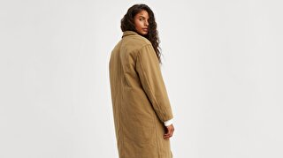 Luna Coat W/ Fill Golden Touch Sarı Kadın Ceket