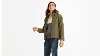 HAIGHT HARRINGTON JACKET OLIVE NIGHT