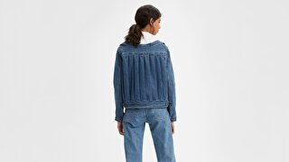 Levi's® Made & Crafted® Off The Shoulder Kadın Trucker Ceket