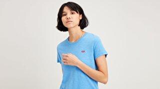 Perfect Tee Marina Mavi Kadın Tişört