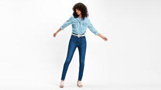 Mile High Süper Skinny Kadın Jean