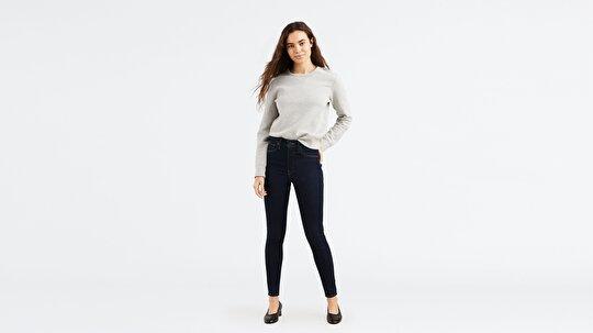 Levi's® Mile High Super Skinny Celestial Rinse Kadın Lacivert Jean Pantolon